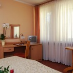 Pokój dwusobowy w Hotelu Trzy Światy Gliwice